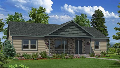 Old Southern Style House Plans by Stone Ridge Ranch Style Modular Homes