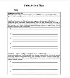 Sales Plan Template Free sales plan templates 8 sles exles