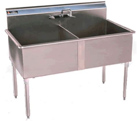 two compartment laundry two compartment sinks nsf sinks stainless steel sink