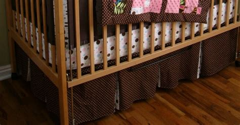 A Load Of Craft Tutorial How To Make A Crib Skirt How To Make A Crib Bed Skirt