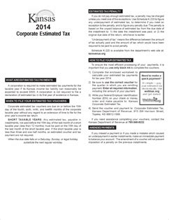 form k 120es fillable 2014 corporate estimated income tax