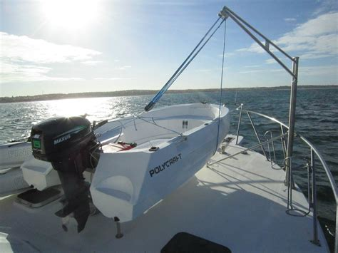 small boat davits westpoint marine portable davit crane for sale boat