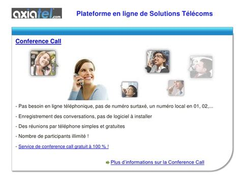 visio conference call fax par conference call standard vocal et