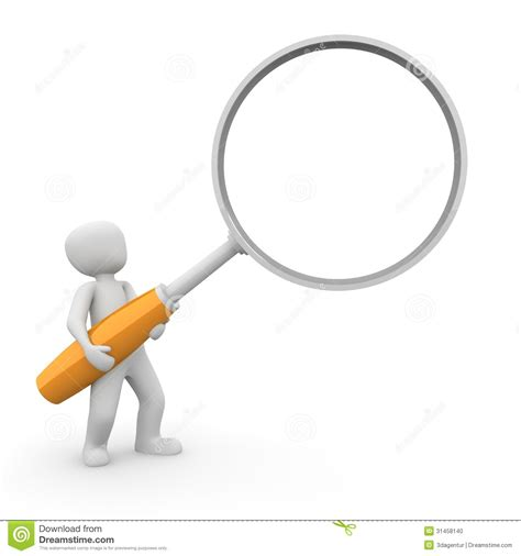 oc white magnifying l lupe stock photo image 31458140
