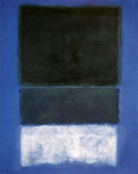 libro rothko the color field mark rothko white and greens in blue 1957 color field painting abstract