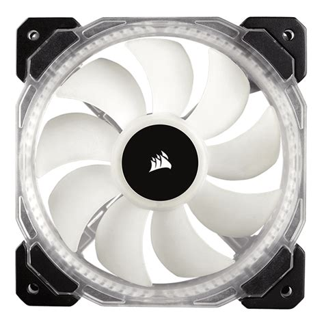 corsair hd120 rgb 54 4 cfm 120mm fan fans fans 120mm 140mm 200mm avadirect