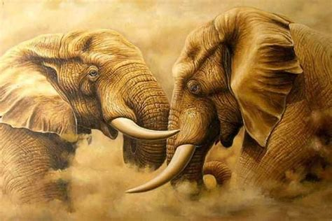 40 Outstanding Oil Paintings Of Animals Tail And Fur Animal Painting For