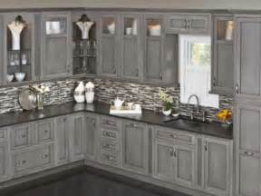 wonderful What Type Paint For Kitchen Cabinets #3: Driftwood_Fieldstone_Cabs.jpg