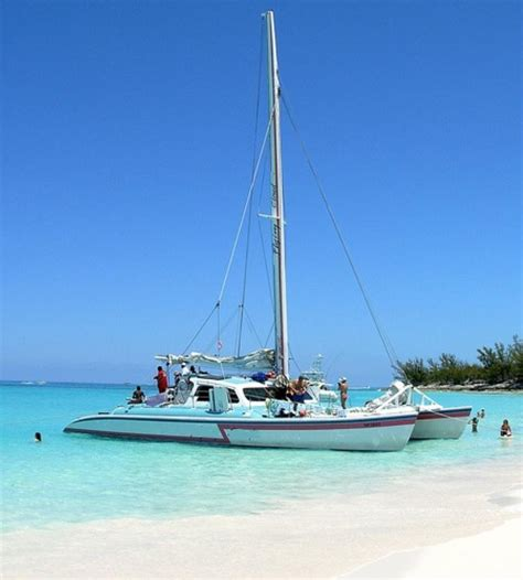 flying cloud catamaran cruises bahamas private charter half day sailing and snorkel catamaran