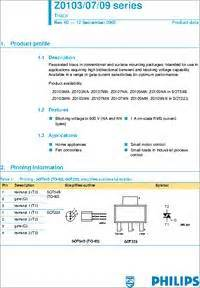 z0103 transistor datasheet transistor z0103 28 images z3m datasheet z3m pdf pinouts circuit st microelectronics z0109