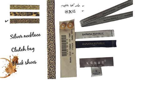 design fashion label custom clothing labels label design personalized labels