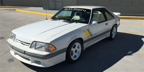 saleen mustang 1989 saleen ssc mustang for sale on ebay ford authority