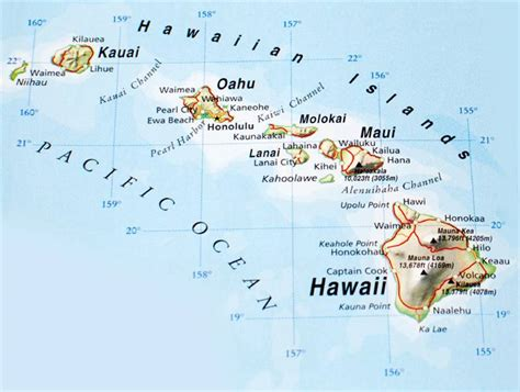 map of hawaii hawaiian islands maps pictures map of hawaii cities and islands