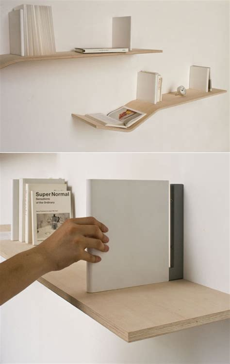 v shelves a laminated plywood shelf that has a gentle quot v