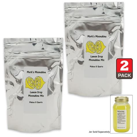 lemon drop mix mark s moonshine mix lemon drop refill 10 quarts