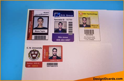 make identification card how to make id card in excel create a new project from