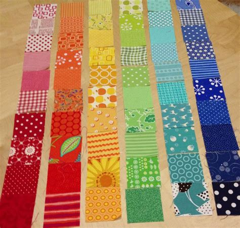 Step By Step Patchwork Quilt - how to make a patchwork quilt step by step rainbow scrap