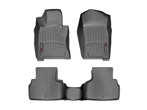 weathertech floor mats floorliner for infiniti q60 2017 black ebay