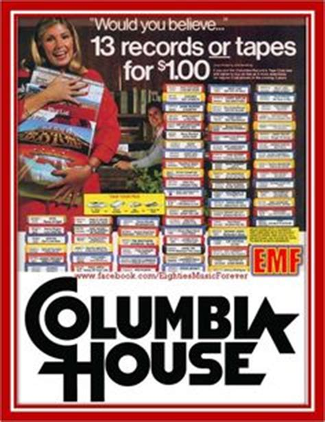 Columbia House Record Club by 1000 Images About Retro On The 80s Tv Shows
