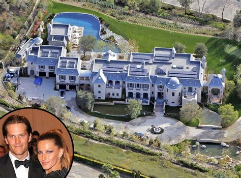 tom brady gisele b 252 ndchen from mega mansions