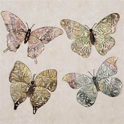 Butterfly Wall Decor by Butterfly Metal Wall Set