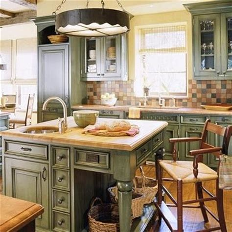country green kitchen cabinets green country kitchen stuff pinterest