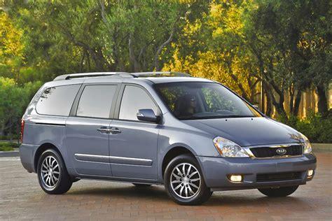 Kia Sedona 2012 Most Fuel Efficient Vans Minivans 10 Best Gas Mileage