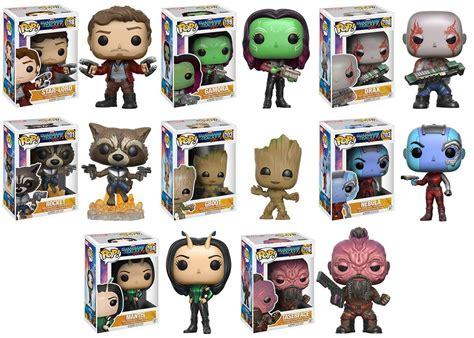 Funko Pop Guardians Of The Galaxy Vol 2 Lord guardians of the galaxy vol 2 pop figures by funko