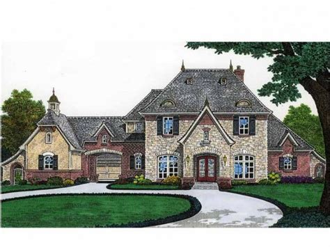 Home Plans With Porte Cochere by Country House With A Porte Cochere Home
