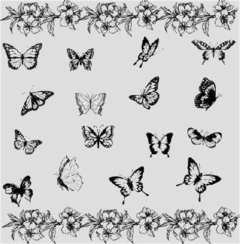 black butterfly tattoo designs butterfly tattoos page 92