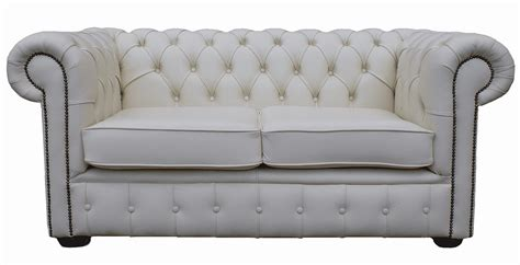 White Leather Sofas Uk White Leather Chesterfield Sofa Uk Brokeasshome