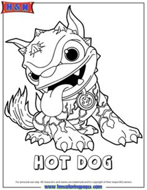 dog team coloring page 1000 images about skylanders on pinterest skylanders