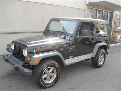 1998 jeep wrangler hardtop buy used 1998 jeep wrangler sport 4x4 v6 5speed manual