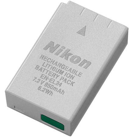 Baterai Nikon En El24 nikon en el24 rechargeable li ion battery for 1 j5