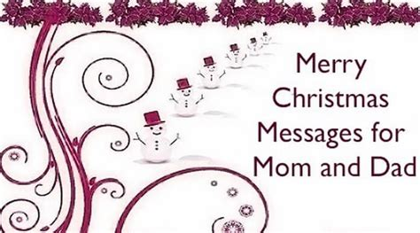 merry christmas messages  mom  dad christmas wishes mother