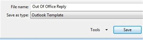 out of office template how to set away message in outlook how simply how to