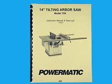 Powermatic Table Saw Ebay