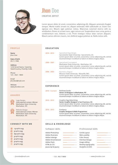 corporate resume templates jade corporate cv template