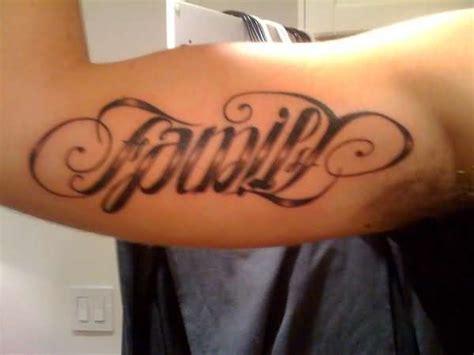 family tattoo ambigram family ambigram tattoo