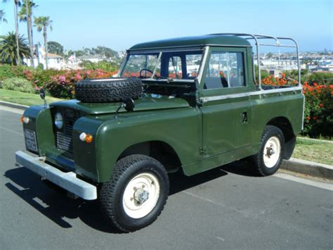 land rover pickup truck 1965 land rover series 2a iia factory pickup pick up truck