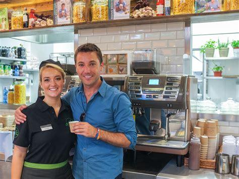 Coffee Machine Gino gino s my pasta bar launches with cimbali m53