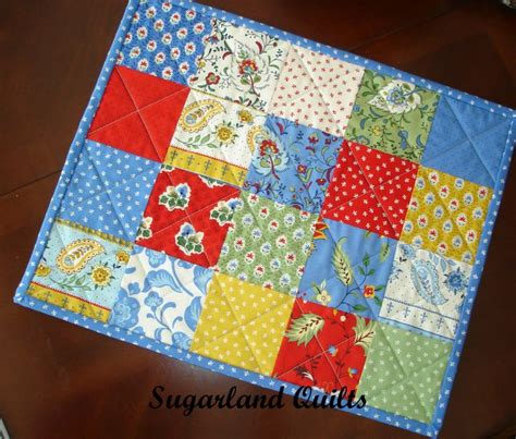 Patchwork Placemat Patterns - 25 unique placemat patterns ideas on quilted