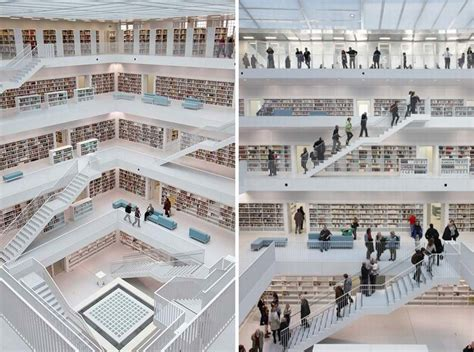 stuttgart city library wordlesstech stuttgart city library by yi architects