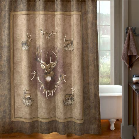 ducks unlimited shower curtain whitetail ridge shower curtain