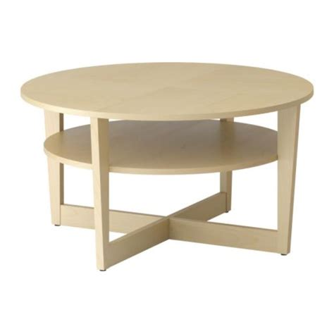 Ikea Birch Coffee Table Vejmon Coffee Table Birch Veneer Ikea