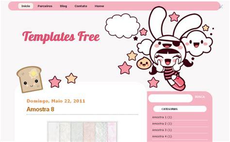 templates for blogger kawaii girls blog cute layout kawaii gr 225 tis para baixar