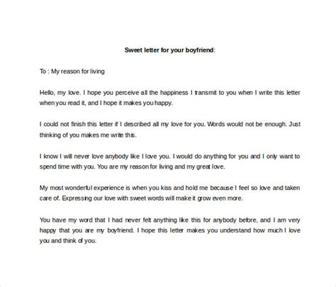 Break Letter Boyfriend You Love 12 love letter to boyfriend free sample example format download