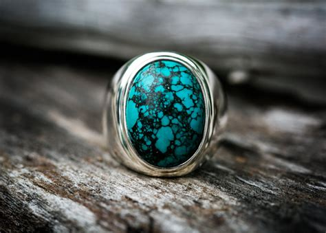 turquoise ring 13 turquoise mens ring size 13 mens turquoise