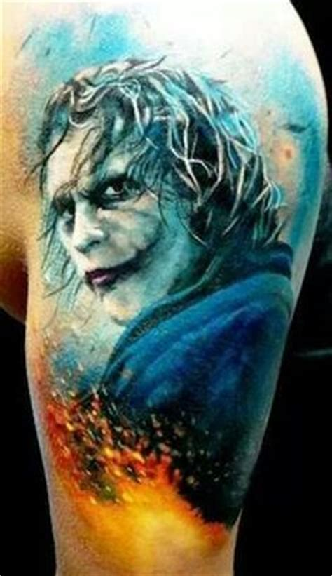 heath ledger joker tattoo designs 1000 images about s on heath ledger