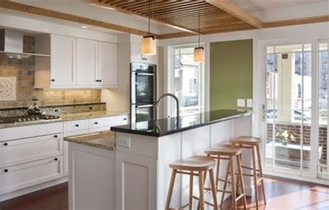 kitchen island with raised bar raised bar kitchen island decor pinterest